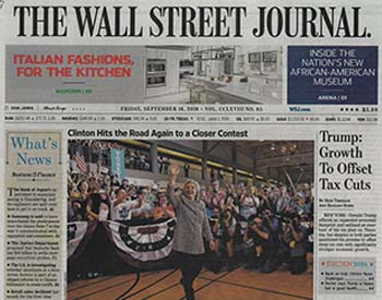 Front Page News WSJ